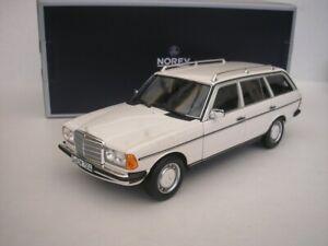 Mercedes Benz 200 T-Model S123 1982 White 1/18 Norev 183733 New