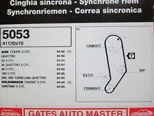 80 90 100 200 AUDI VW Passat Santana 1979-91 Gates Dentada Timing Belt 5053