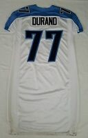 #77 Durand of Tennessee Titans NFL Game Issued Locker Room Jersey