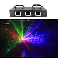 1.6W RGB Animation Beam Laser Light DMX PRO DJ Party Bar Stage Lighting 1600mW