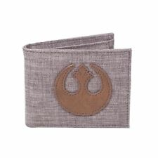 Oficial para Hombre Star Wars Rebel Logo Denim Bi-fold Wallet-último Jedi