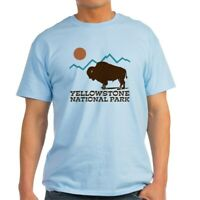 CafePress Yellowstone National Park Light T Shirt Light T-Shirt (572351422)
