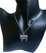 Schaf Halskette, Handmade in England aus Feinem Englischen Zinn