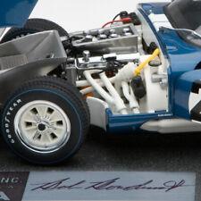 Exoto | 1:18 | HAND SIGNED | 1965 Cobra Daytona w/ Base | Winner, 1000 km Monza