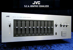 Stereo Equalizer JVC S.E.A. 50 Vintage 10 Band Sound Effect Amplifier EQ SEA-50