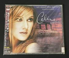 Celine Dion MY HEART WILL GO ON DANCE MIXES Japan 1st Edition CD +OBI Very Rare