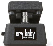 Jim Dunlop Cry Baby 535Q Mini Wah Guitar Pedal CBM535Q Half  Size ( OPEN BOX )