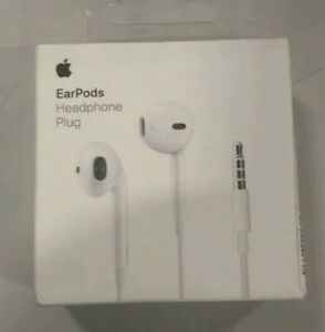 Original Apple EarPods 3.5MM with Remote & Microphone In Ear Headset Retail Box