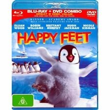 Happy Feet (Blu-ray Disc + DVD, 2007)