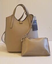 NWT Claudia Firenze Genuine Leather Handbag/Backpack/Purse Gray