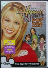 Hannah Montana: Pop Star Profile (DVD, 2007) Disney Miley Cyrus Brand New Sealed