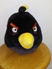 Commonwealth ROVIO ANGRY BIRDS BOMB BLACK BIRD MED Stuffed Plush Animal SOFT TOY