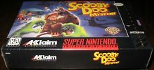 Scooby-Doo Mystery (Super Nintendo Entertainment System) Brand NEW!