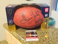 Howie Long HOF Signed Autograph Duke Wilson NFL Football JSA COA