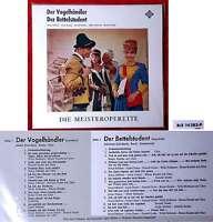 LP Vogelhändler / Bettelstudent (Telefunken BLE 14 282-P) D Neuwertig
