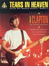 Tears in Heaven Sheet Music Guitar Sheet NEW 000663002