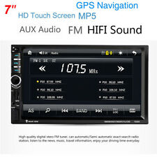 7'' 2DIN ar In-Dash Audio Stereo HD MP5 Player FM/USB/TF GPS Free Australia map