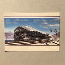 Leanin' Tree Train greeting card style 5180 The Mighty Hudson Holiday Christmas
