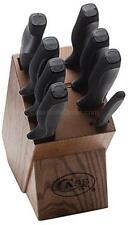 NEW CASE XX USA MADE 9 PIECE  KITCHEN CUTLERY KNIFE SET & BLOCK #31725 SALE