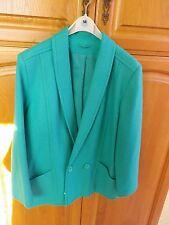Beautiful ladies jade green lined jacket
