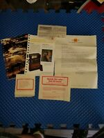 Vtg Ephemera Paper Lot Kodak 1980s Photograph Camera Manual Booklet Letter prop