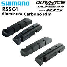 SHIMANO R55C4 v brake Road Bike Shoes Pads For Carbon Rims Dura-Ace/Ultegra/105