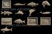 3D Model for CNC Router STL File Artcam Aspire Vcarve Wood Carving.IS415