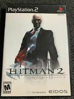 HITMAN 2 SILENT ASSASSIN - PS2 - COMPLETE W/MANUAL - FREE S/H - (DD)