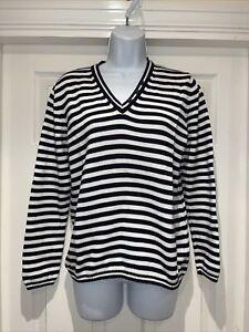 Ladies BETTY BARCLAY Fine Knit Jumper Size 14