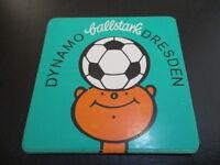 090616 original DDR Oberliga Aufkleber Dynamo Dresden grün aus DDR Zeiten