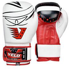 Velo Kids Boxing Gloves Junior Mitts Punch Bag Children Mma Youth 4oz 6oz 8oz