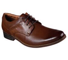 MARK NASON - TATUM - Men's Dress Shoes Oxfords - Cognac Brown Leather - Size 10