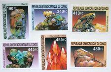 CONGO KONGO KINSHASA 2002 1713-18 Block 118 U Mineralien Minerals Rohstoffe MNH