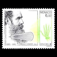 Monaco 1995 - Discovery of X-Rays by Wilhelm Rontgen - Sc 1981 MNH