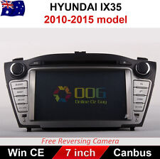 "7"" Car DVD GPS Navigation Stereo Head Unit For HYUNDAI IX35 2010-2015 model"