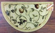 19X32 Slice Wedge Kitchen Rug Mat Gold Green Beige Washable Fruit Grapes Pears