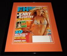 Jenny McCarthy Framed 11x14 ORIGINAL 2003 FHM Magazine Cover