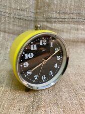 Vintage alarm clock made in Czech republic PRIM works