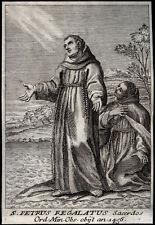 santino incisione 1700 S.PIETRO REGALATO