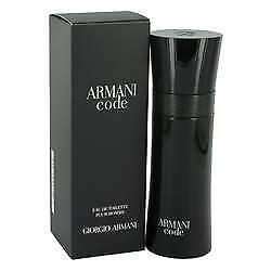 ARMANI CODE by GIORGIO ARMANI EDT 75ml  NEW IN SEALED BOX PERFUME Men