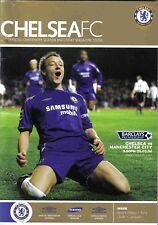 Football Programme>CHELSEA v MANCHESTER CITY Mar 2006