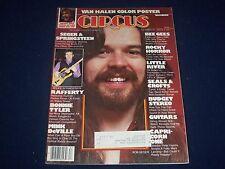 1978 AUGUST 3 CIRCUS MAGAZINE - BOB SEGAR COVER - PHOTOS - J 1038