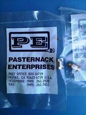PE4005 PASTERNACK CONNECTOR SMA MALE SOLDER ATTACH PE-SR405AL PE-SR405FL RG405