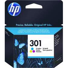 ORIGINAL CARTRIDGE HP 301 COLOURS CODE CH562EE NEW