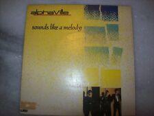 """7"""" Single 45 P/S - ALPHAVILLE - SOUNDS LIKE A MELODY - 1984 - BRAZIL"""