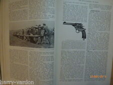 Antiguo Viejo Foto Ilustrado artículo Revolver Pistola Arma Tiro 1912