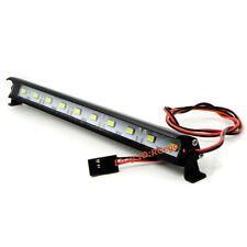 Alloy LED Light Bar 6~7.4V JR Plug 10 lights For 1:10 1:8 RC Crawler Truck Car