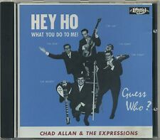 Chad Allan & the Expressions - Hey Ho What You Do to Me - GUESS WHO CD - Bachman