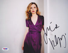 Julie Delpy SIGNED 8x10 Photo Before Midnight Sunset Sunrise PSA/DNA AUTOGRAPHED