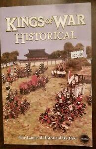 Mantic Games - KINGS OF WAR HISTORICAL - wargaming rules book